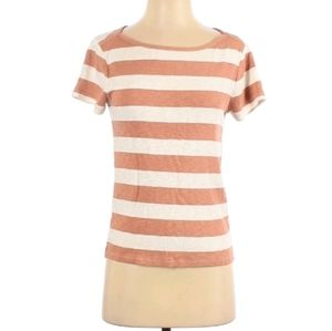 Madewell small cotton top striped soft